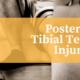posteror tibial tendon injury