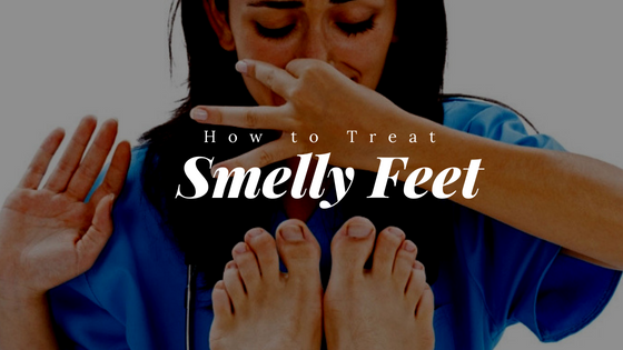 smelly feet