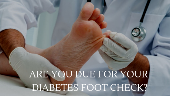 Diabetes Foot Check