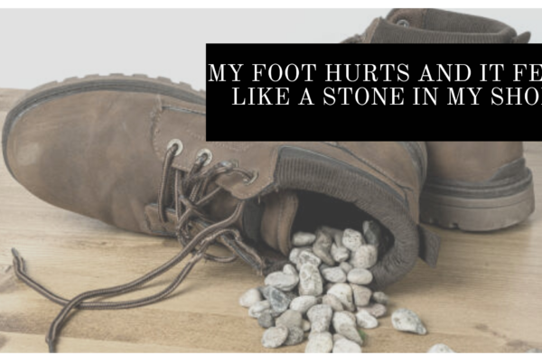 Feels Like A Stone In My Shoe